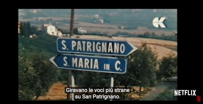 Una scena del documentario Sanpa
