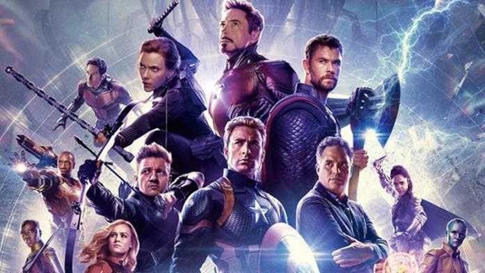 Dettagliio del poster di Avengers: Endgame
