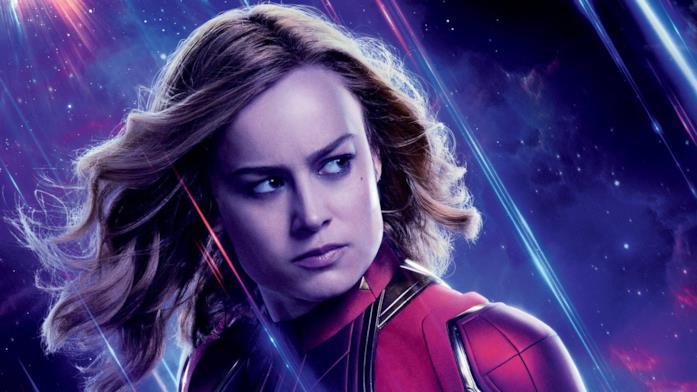 Poster di Avengers: Endgame dedicato a Captain Marvel