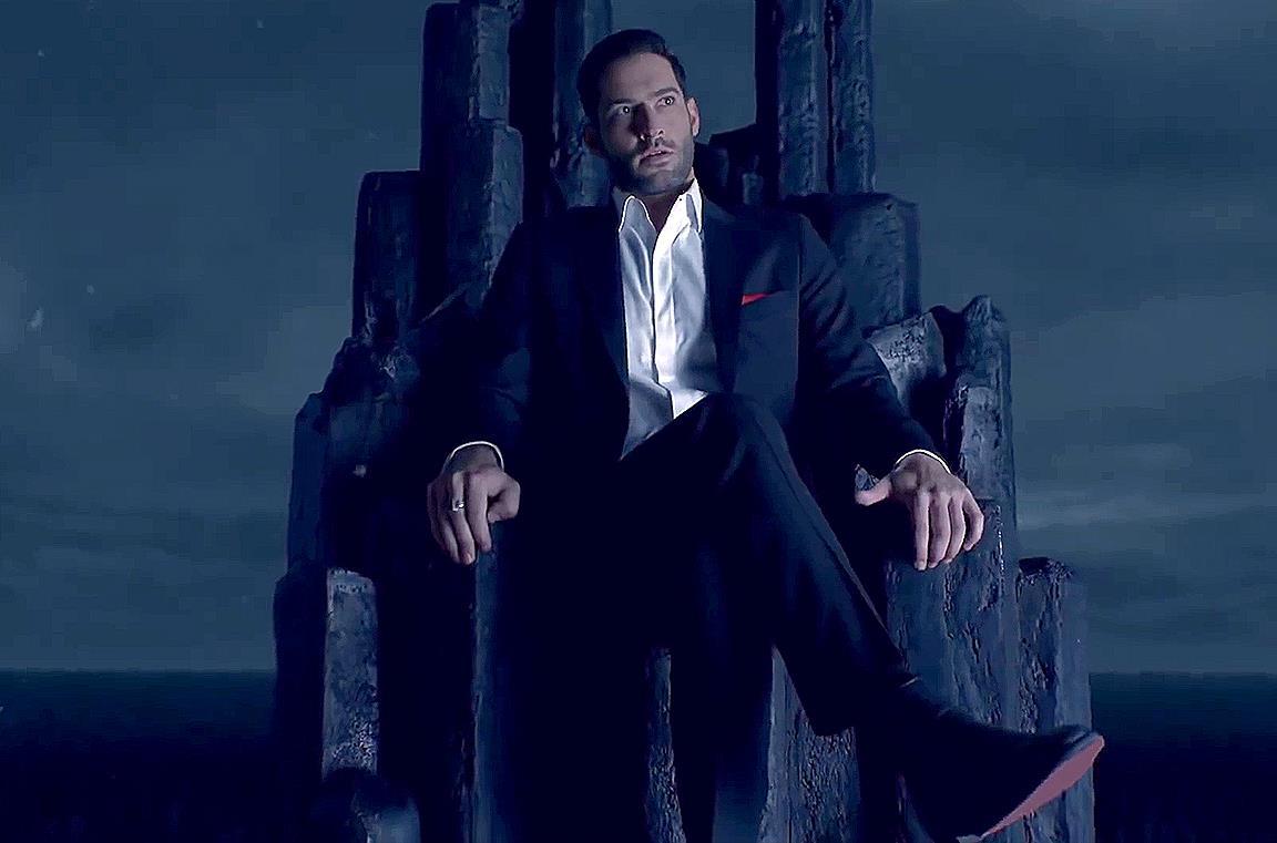 Un'immagine promozionale di Lucifer