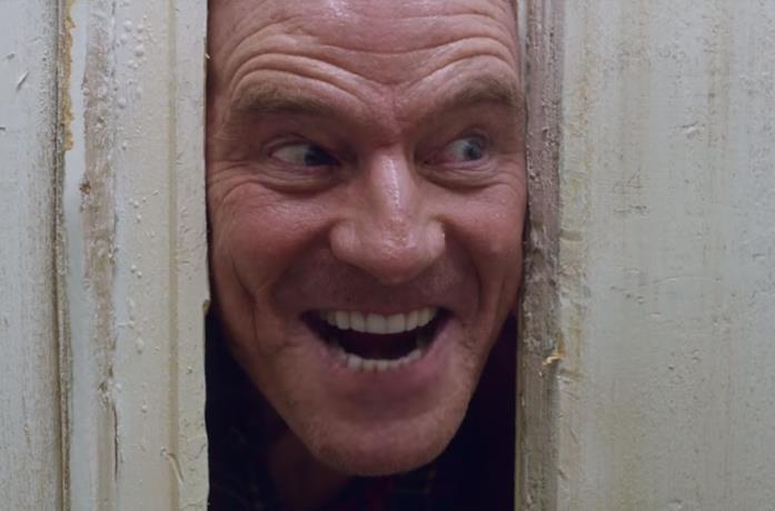 Bryan Cranston come Jack di Shining per un goccio di Mountain Dew
