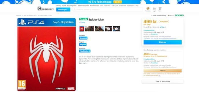 Il nuovo videogioco di Spider-Man uscirà il 28 settembre 2018?