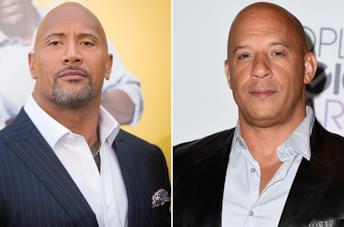The Rock e Vin Diesel in due scatti ufficiali