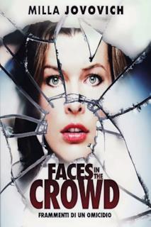 Poster Faces in the Crowd - Frammenti di un omicidio