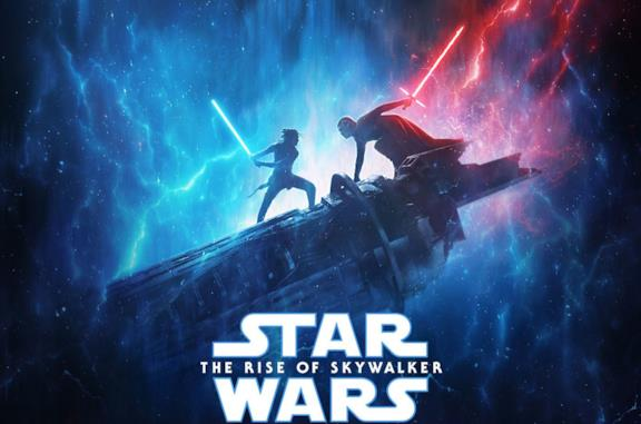 Il poster del film Star Wars: L'ascesa di Skywalker