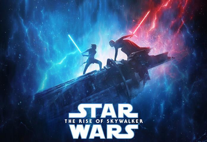 Il poster del film Star Wars: L'ascesa di Skywalker