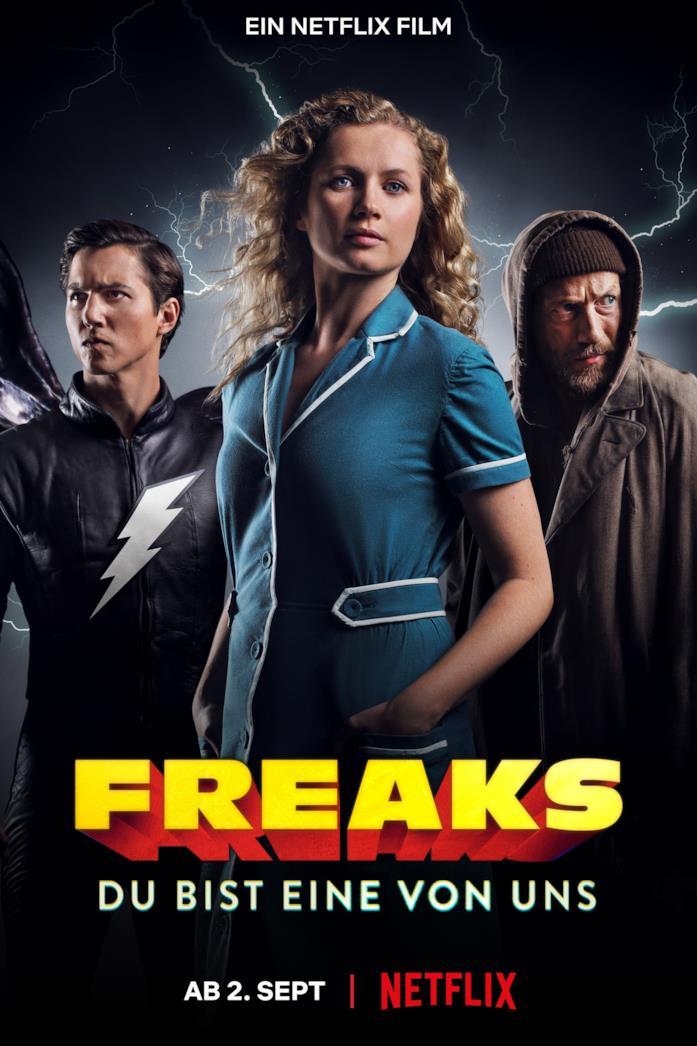 Il cast nel poster di Freaks – Una di noi