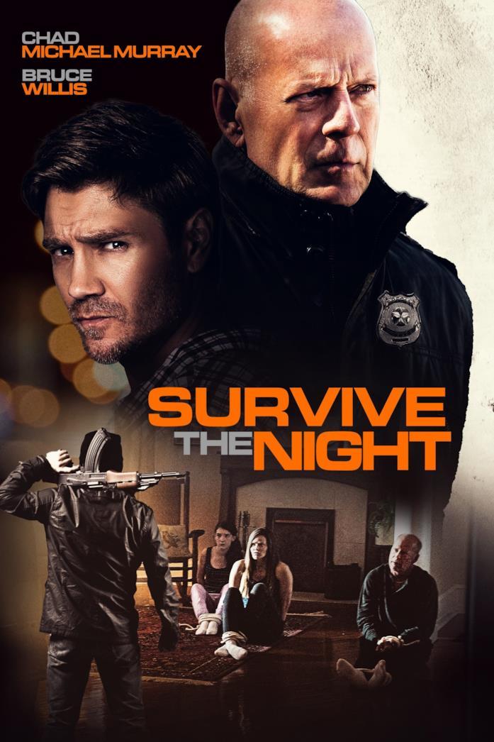Il cast nella locandina di Survive the Night