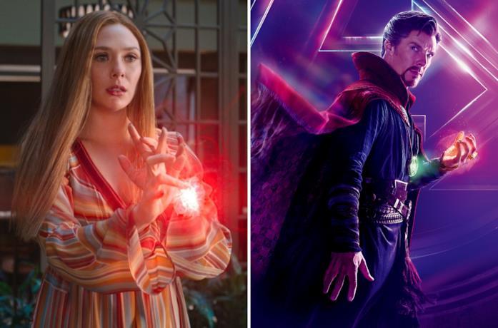 Wanda e Doctor Strange