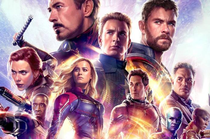 I protagonisti di Avengers: Endgame in un poster promozionale