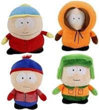 Lotto 4 Peluche: Kenny, Kyle, Eric e Stan