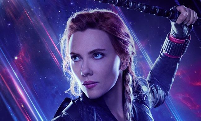 Character poster di Avengers: Endgame dedicato a Vedova Nera