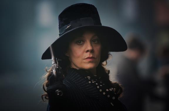 Helen McCrory interpretava Polly in Peaky Blinders