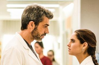 Luca Argentero e Matilde Gioli