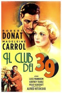 Poster Il club dei 39