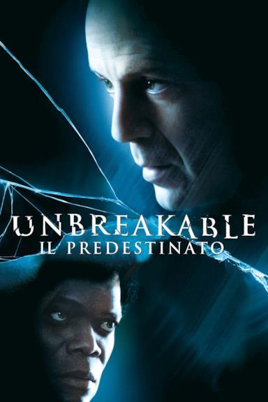 Poster Unbreakable - Il predestinato