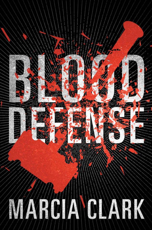 copertina sanguinolenta del romanzo di marcia clark