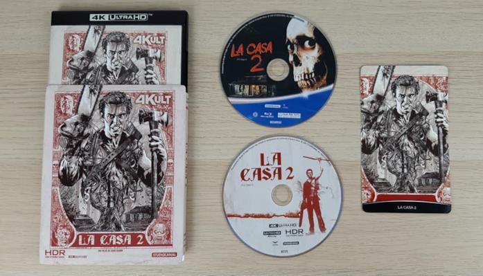 L'edizione 4K Ultra HD de La Casa 2