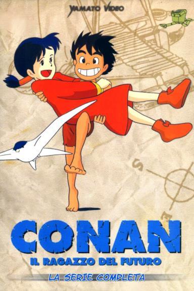Poster Conan il ragazzo del futuro