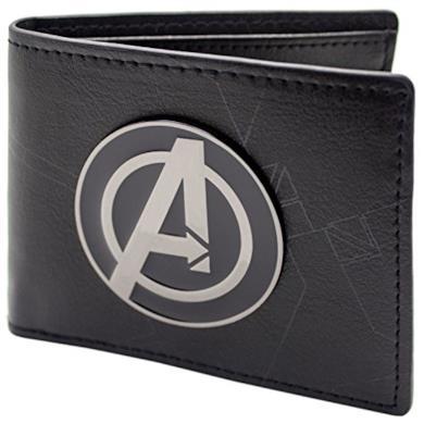 Marvel Avengers Assemble Nero portafoglio