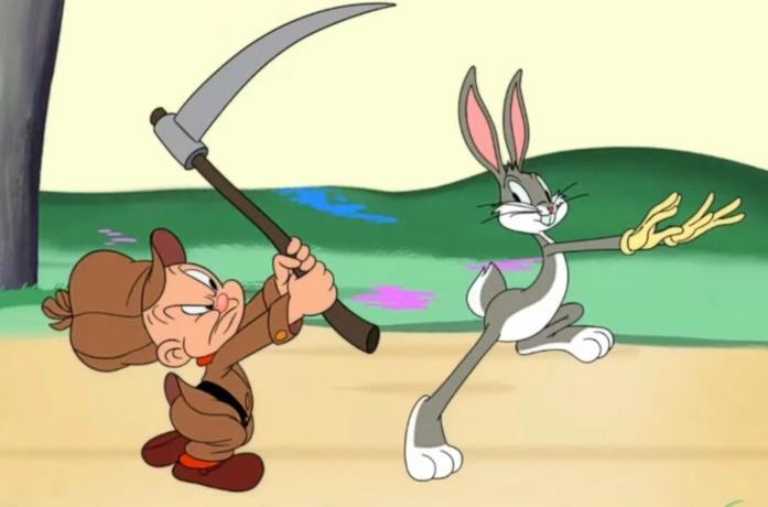 Taddeo e Bugs Bunny nella nuova serie animata con i Looney Tunes