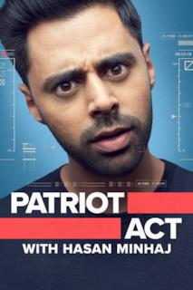 Poster Patriota indesiderato con Hasan Minhaj