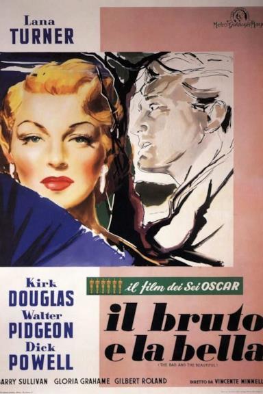Poster Il bruto e la bella