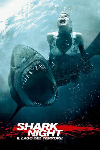 Poster Shark Night - Il lago del terrore
