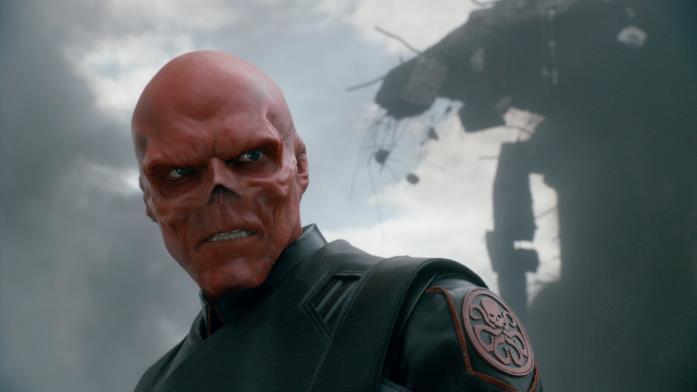 Hugo Weaving in Captain America - Il primo Vendicatore nei panni di Teschio Rosso