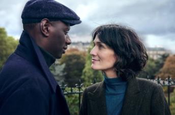 Omar Sy è Assane Diop in Lupin