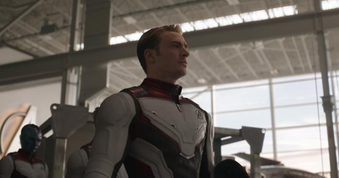 Foto di una scena del film Avengers: Endgame