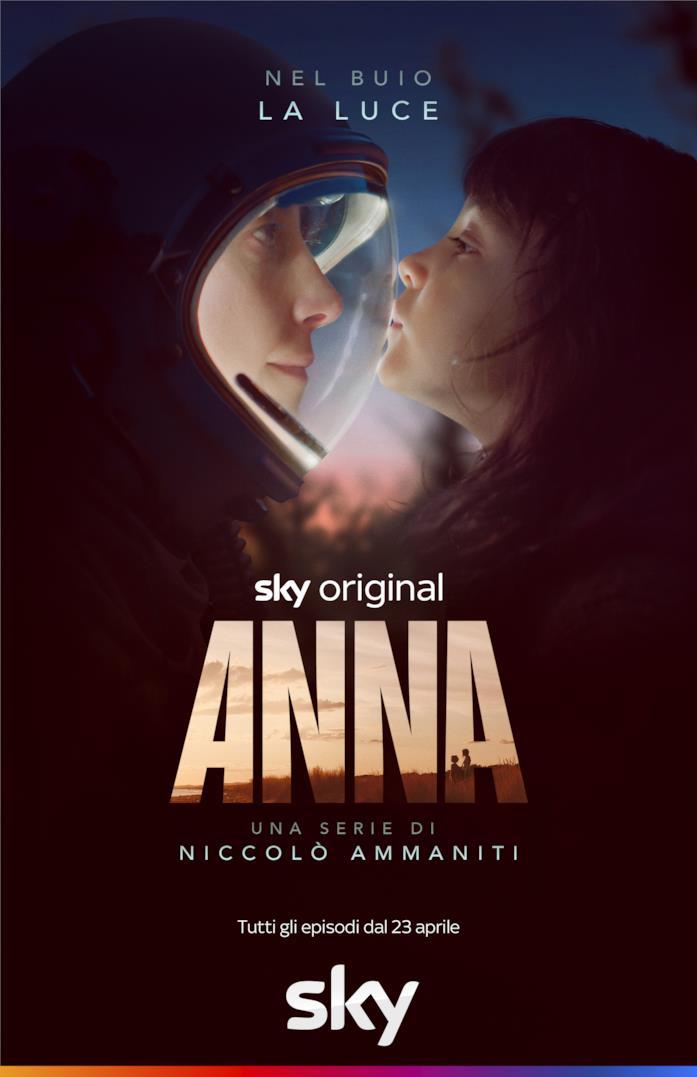 Anna, il poster della serie originale Sky