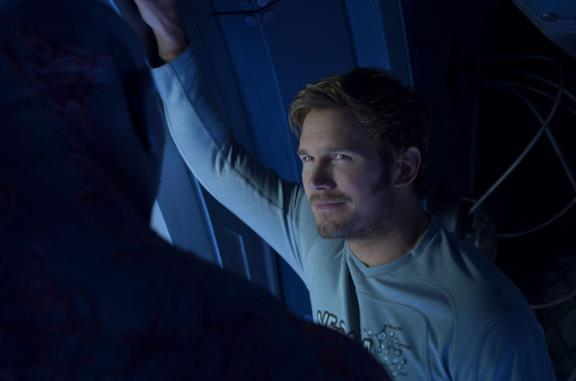 Chris Pratt come Star-Lord in Guardiani della Galassia Vol. 2