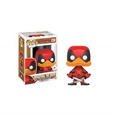 Funko - Figurine Marvel - Deadpool The Duck Exclu Pop 10cm - 0889698145619
