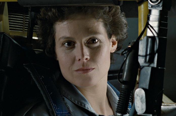 Sigourney Weaver nelle vesti di Ellen Ripley