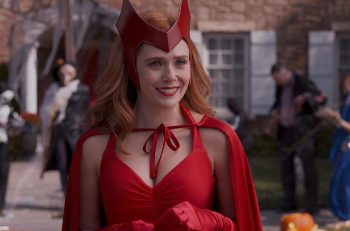 Wanda nella puntata di Halloween di WandaVision