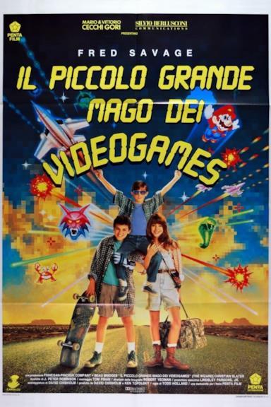 Poster Il piccolo grande mago dei videogames