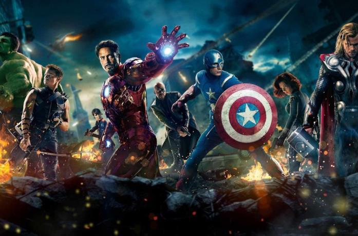 Gli Avengers del primo film