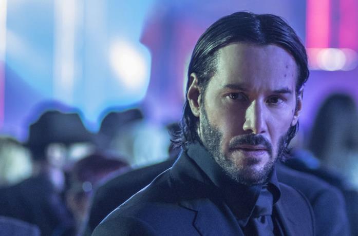 Un'immagine di Keanu Reeves come John Wick