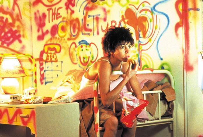 Nikita in versione punk nelle scene iniziali del film di Luc Besson