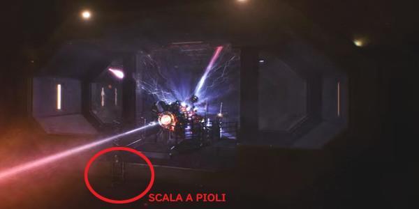 La scala nell'ultima scena di Stranger Things 3