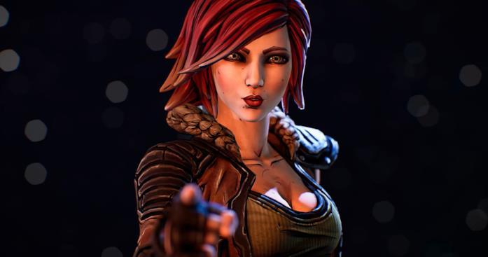 Il personaggio di Lilith con i capelli rossi e corti