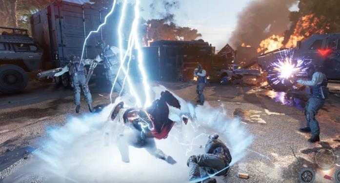 Marvel's Avengers combattimento