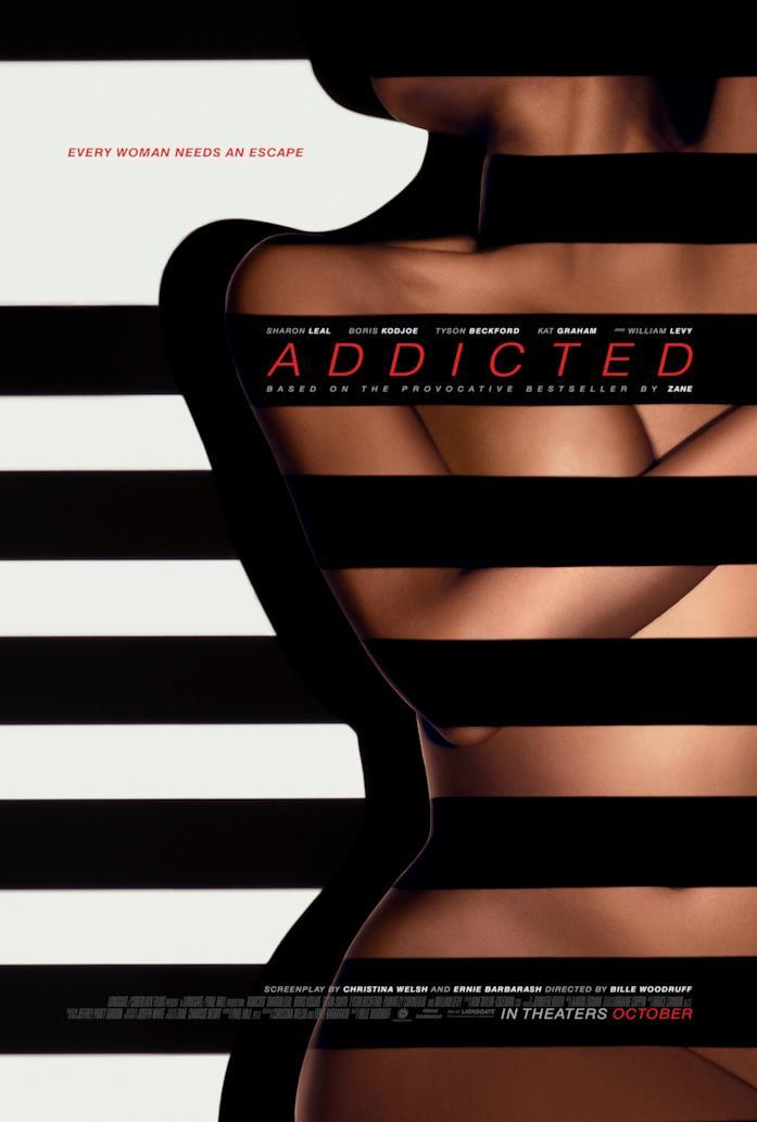 Il poster del film Addicted - Desiderio irresistibile
