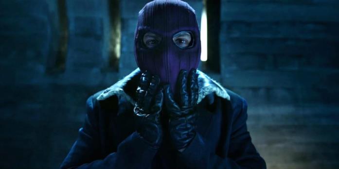 Zemo indossa la maschera viola