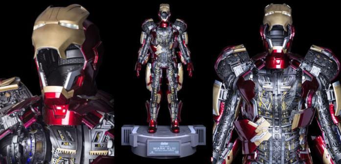 Tutti i particolari dell'action figure di Iron Man di The Toys Asia