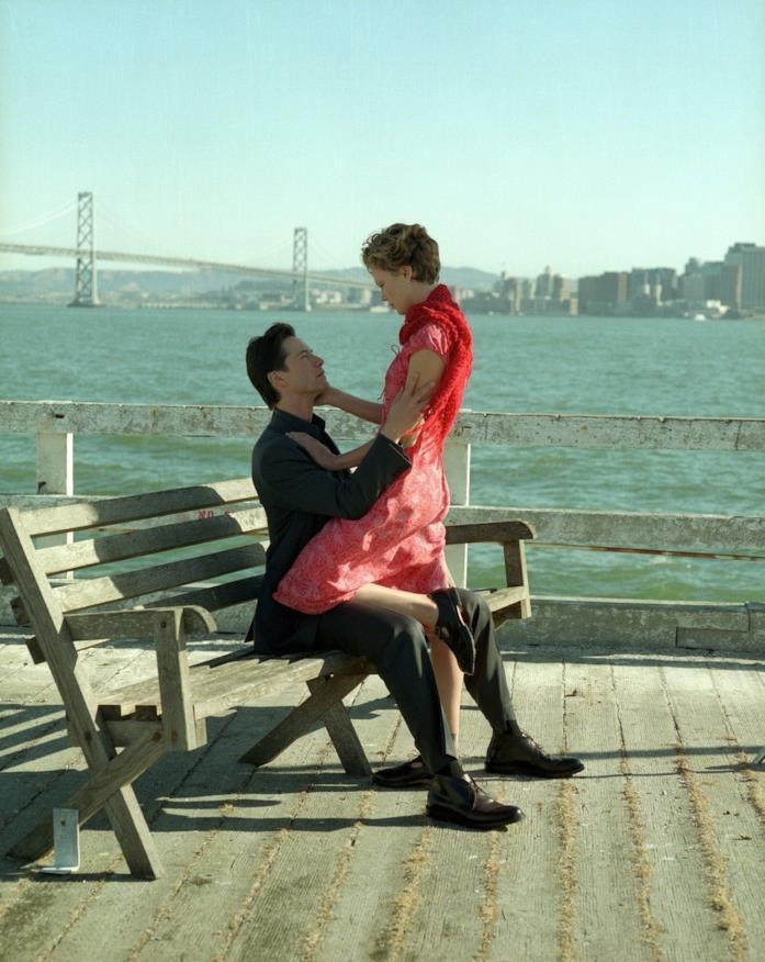 Keanu Reeves e Charlize Theron insieme nel film Sweet November - Dolce novembre