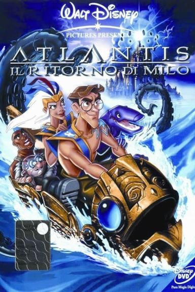 Poster Atlantis - Il ritorno di Milo