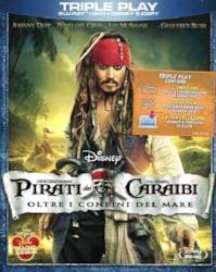 Pirati dei Caraibi - Oltre i confini del mare(Blu-ray+DVD+e-copy)