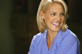 Katherine Heigl in Grey's Anatomy